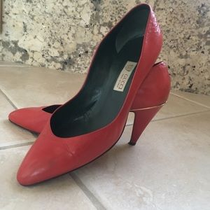 Gucci red heels